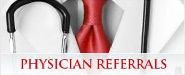 Home Page Physician Referrals